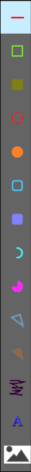 Drawing menu -Picster